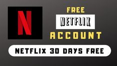 Get your Netflix Account for free and enjoy it legally. Here are some ways to get Netflix for free. These are all legal ways. Get you Netflix for free and wacth unlimited. Netflix Free Month, Get Netflix, Netflix Free Trial, Netflix Hacks, Watch Netflix, Watch Movies, Netflix Promo Code, Netflix Gift Card Codes, Products