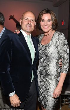 Split: Just seven months after tying the knot, Luann De Lesseps announced on Thursday she would be ending her marriage to Tom D'Agostino Jr. (pictured April 2017)