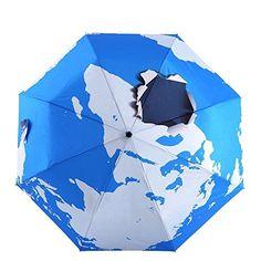 Fishon Too-Three Dimensional Earth Thirty Percent Umbrella Creative Personality -- Tried it! Love it! Click the image. : Umbrella Racks