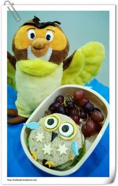 Image result for owl bento