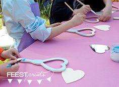 Themafeestje: een prinsessenfeestje thuis - Feestprints