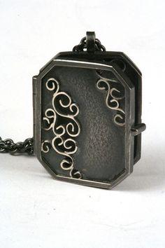 Natasha Wozniak Wrought Amulet Locket