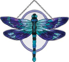 """""""Stained Glass"""" Water Cut Fired Dragonfly Suncatcher B Dragonfly Stained Glass, Stained Glass Tattoo, Stained Glass Suncatchers, Dragonfly Art, Glass Butterfly, Stained Glass Designs, Stained Glass Projects, Stained Glass Patterns, Stained Glass Art"""