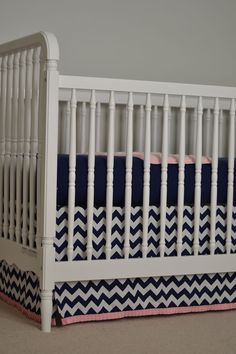 life's little moments: nursery projects {DIY crib skirt}