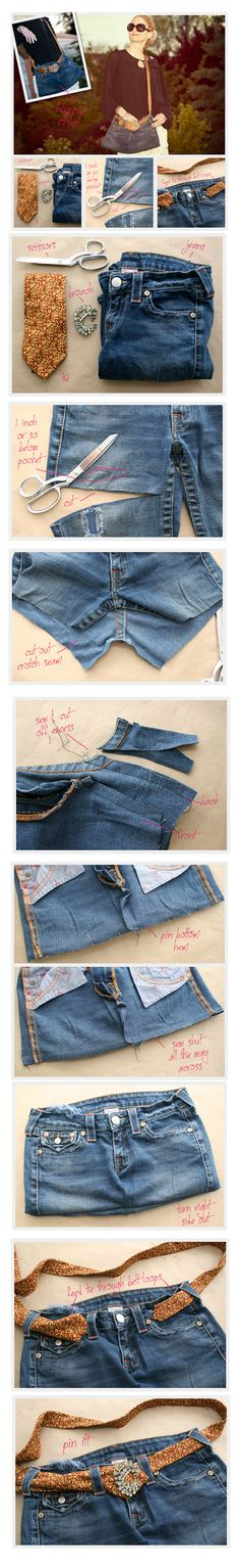 Recycled Jeans Bag: