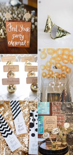 14 Fabulous Party Ideas for Your New Year's Eve Wedding | weddingsonline