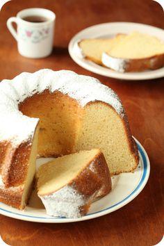 Brazilian Corn Cake - bolo de fuba