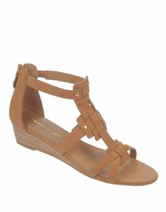 Ulysses Nubuck Leather Wedge Sandals | Lord and Taylor