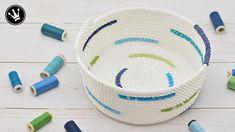 DIY - Rope bowl nähen I Rope basket I Seilkorb nähen I How to [GERMAN] - YouTube