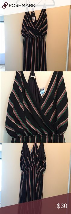 NWT!!! Striped summer dress NWT no rips or stains. Bought at a cute boutique Dresses