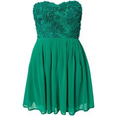 Elise Ryan Cornelli Lace Dress ($65) ❤ liked on Polyvore featuring dresses, vestidos, short dresses, robe, party dresses, emerald green, womens-fashion, emerald green cocktail dress, short green dress and lace cocktail dress