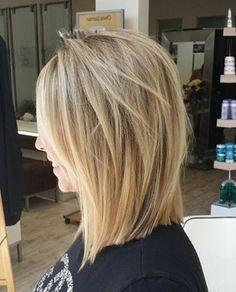 Dark Blonde Hair Color, Hair Color And Cut, Cute Hairstyles For Short Hair, Pretty Hairstyles, Medium Hair Styles, Short Hair Styles, Corte Bob, Beautiful Haircuts, Honey Hair