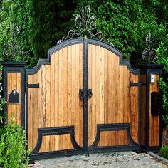 Ahşap Bahçe Kapısı Model 63
