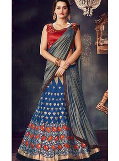 MAHOTSAV D.NO.-4717 RATE : 4845 - MAHOTSAV 4707-4719 SERIES PARTY WEAR BROCADE SILK DESIGNER LEHENGA CATALOGUE WHOLESALE ON DSTYLE ICON FASHION. CALL ON +91-7698955723 - DStyle Icon Fashion