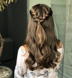 2019 Lindos Peinados con Trenzas - Fácil Paso a Paso - - Evening Hairstyles, Homecoming Hairstyles, Hairstyles 2018, Teen Hairstyles, School Hairstyles, Medium Hair Styles, Short Hair Styles, Natural Hair Styles, Braids Medium Hair