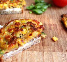 Oppskrift Maispletter Maispannekaker Vegansk Eggfri Omelett Maisomelett Uten Egg Fullkorn Couscous
