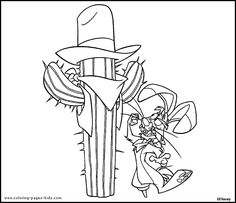 Larry Home On The Range Coloring Page