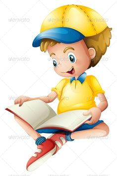 Boy with Blank Book