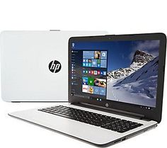 HP 15 Laptop Intel 4GB RAM 1TB HD with Additional Software