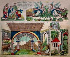 Papermau: Christmas Time - Gustav Kühn Nativity Sheet - via Paper Model Kiosk