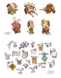 Artes de Scott Watanabe para o filme Tangled | THECAB - The Concept Art Blog