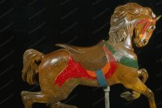 "Glen Echo Dentzel Carousel Horse 7 1920s 4x6 photo "">>> The park was originally designed as a Chautauqua site in 1891, a precursor of sorts to the arts facility Glen Echo has become today. It flourish"