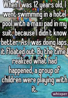 17 Outrageously Embarrassing Period Confessions The most dangerous time of the month. Based on anonymous Whisper contributions. Lol, Period Story, Whisper App Confessions, Whisper Quotes, Whisper Sh, Funny Quotes, Funny Memes, Hilarious Jokes, True Quotes