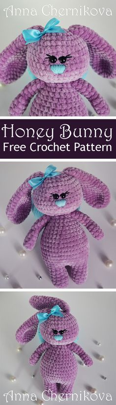 PDF Honey Bunny. FREE amigurumi crochet pattern. Бесплатный мастер-класс, схема и описание для вязания игрушки амигуруми крючком. Вяжем игрушки своими руками! Кролик, заяц, зайчик, зайка, rabbit, hare, bunny. #амигуруми #amigurumi #amigurumidoll #amigurumipattern #freepattern #freecrochetpatterns #crochetpattern #crochetdoll #crochettutorial #patternsforcrochet #вязание #вязаниекрючком #handmadedoll #рукоделие #ручнаяработа #pattern #tutorial #häkeln #amigurumis
