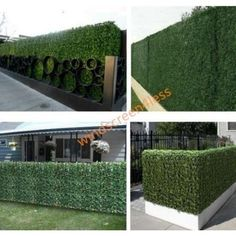 Artificial Boxwood Topiary Hedge Plant Suitable For Both Outdoor Or Indoor,  Garden Or Backyard And · Privacy Fence ScreenMesh ...