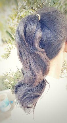 تسريحة شعر ذيل الحصان النصفية Half ponytail hairstyle Hair… | Flickr Long Hair Ponytail, Ponytail Hairstyles, Dreadlocks, Long Hair Styles, Beauty, Long Hairstyle, Long Haircuts, Dreads, Long Hair Cuts