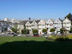 San Francisco Painted Ladies - San Francisco