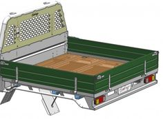 Holden Colorado Dual Cab Sovereign Steel Tray Galvanised (TS-HD-CL-01-G) | Sovereign Design