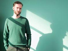 WOLFEN Seed Stitch Sweater 100% lambswool