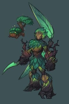 Nicholas Kole – Dawngate skin concepts – Best Art images in 2019 Fantasy Character Design, Character Creation, Character Design Inspiration, Character Concept, Character Art, Monster Design, Monster Art, Fantasy Monster, Plant Monster