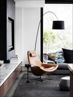 A very contemporary interior. #design #style