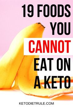 Not sure what not to eat on the keto diet? Here's a quick list of 19 foods you absolutely completely avoid on a low-carb ketogenic diet. Avoid them to get and staying in ketosis. Low Carb Meal, No Carb Food List, Keto Diet List, Ketogenic Diet Meal Plan, Ketogenic Recipes, Diet Recipes, Diet Menu, Keto Meal, Keto Diet Foods