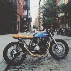 Seaweed and Gravel CB750 - NYC