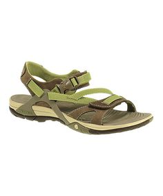 This Otter Azura Strap Sandal is perfect by Merrell, $55 !!  #zulilyfinds