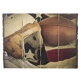 Found it at Wayfair - Bark Edge Panel Vintage Football Photographic Print