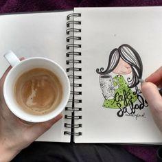 No sabéis cómo me gustan los desayunos que saben a sábado... #desayunodesabado  #cafe #cafeconleche #milk #おうちcafe #caferacersofinstagram #cafelatte #cafehopping #tazaspersonalizadas #tazasmolonas #verde #green #arte #art #dia #day #ilustracion #ilustration #cafeteria #instagram #tazaspersonalizadas #madebycarol #madeinspain #madewithpicsart #madewithpic #espumadecafe #cafeina #aroma #caferacersofinstagram