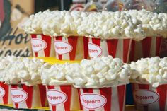 Popcorn cupcakes :) for movie bday party