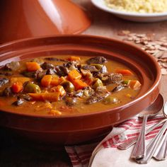 Slow Cooker Moroccan Lamb Tagine Stew