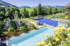 Wellness & Spa Hotel Ermitage, Schönried ob Gstaad Solbad & Sportschwimmbad