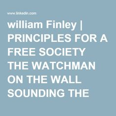william Finley | PRINCIPLES FOR A FREE SOCIETY THE WATCHMAN ON THE WALL SOUNDING THE ALARM | LinkedIn CREEPING SHARIA- CAIR's ties to Terrorist Hamas