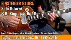 ✪ EINSTEIGER BLUES ►B.B King Lick Nr.10
