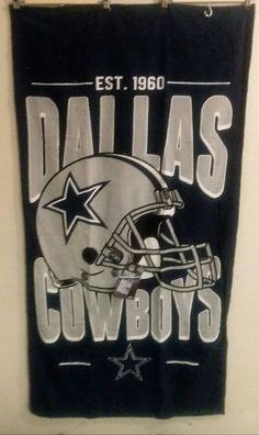WOW NWT Dallas Cowboys Beach/Pool/ Decor Towel | Sports Mem, Cards & Fan Shop, Fan Apparel & Souvenirs, Football-NFL | eBay!