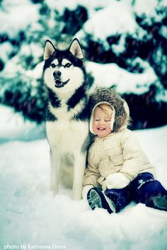 need this child, and this husky