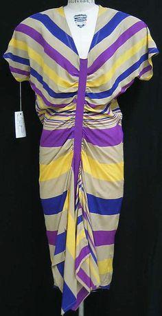 Dress, Gianni Versace, 1970-79, Italian, silk