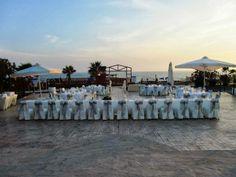 Kefalos Beach Set Up, - Weddings at the Kefalos Beach, Cyprus x