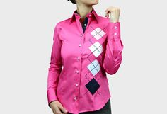 TRINITY pink, to discover in our catalog Women's Shirts on WebMenshirts specialist of the brand Andrew Mc Allister
